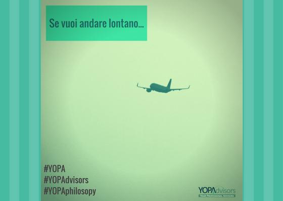 YOPAdvisors ricerca collaboratori per andare lontano