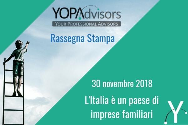 L'Italia è una Repubblica fondata sulle imprese familiari