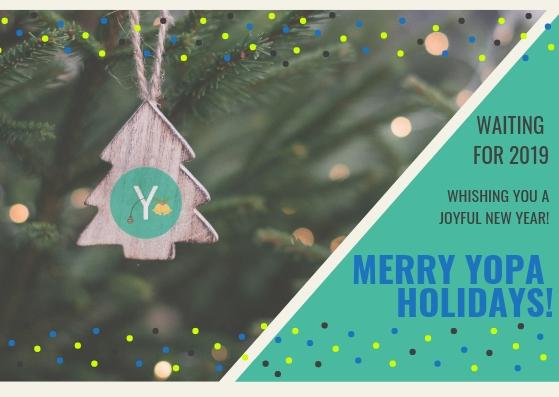 Buone feste da YOPAdvisors! Vi aspettiamo nel 2019!