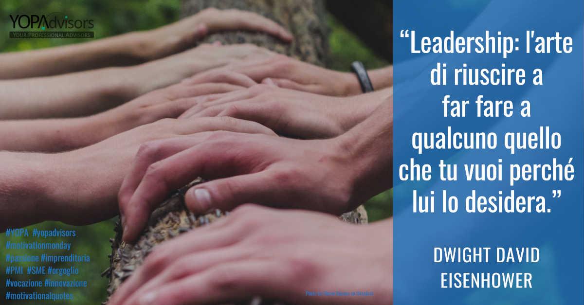 Leadership inclusiva significa condurre i propri team compositi ad un alto livello di amalgama e condivisione.