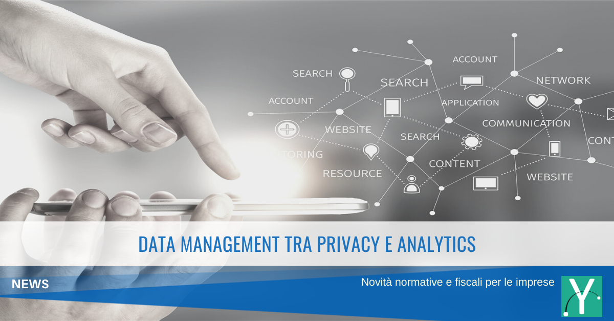Data Management tra privacy e analytics