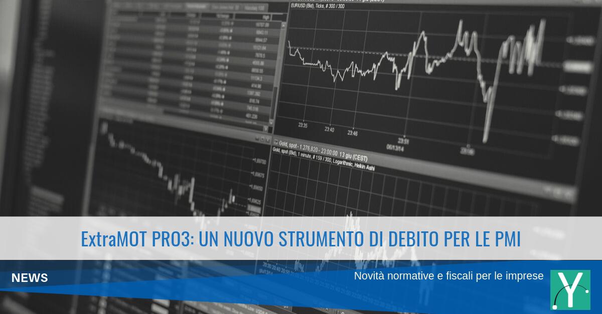 ExtraMOT PRO3: un nuovo strumento di debito per le PMI
