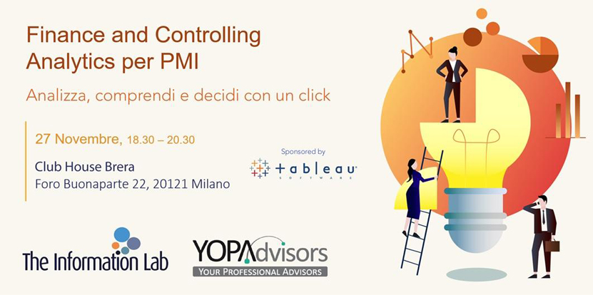 YopAdvisors software innovativo evento novembre